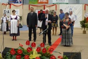 Jaromír Strnad se zúčastnil folklórního festivalu Horácko zpívá a tančí