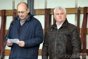 Jaromír Strnad se zúčastnil Polního dne v Čáslavi