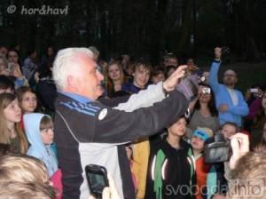 Jaromír Strnad se zúčastnil vypouštění kolonie netopýrů rezavých v Čáslavi