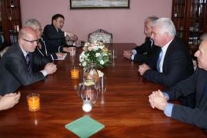 Čáslav navštívil předseda vlády Bohuslav Sobotka