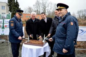 Zahájení výstavby hasičské stanice