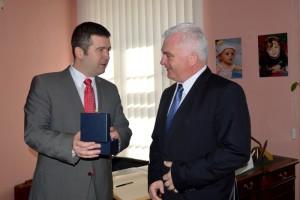 Čáslav navštívil předseda Poslanecké sněmovny Parlamentu České republiky